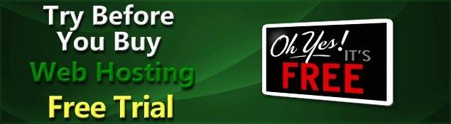 No Obligation Free Web Hosting Trial