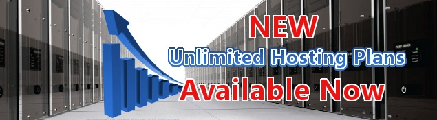 New Unlimited Web Hosting Plans Available