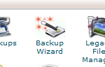 cpanel back up wizard