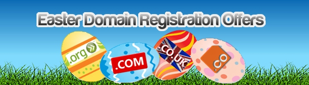 Domain Registration Offers April 2012