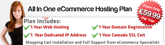 New! All In One eCommerce Hosting Plan
